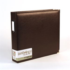 Picture of *50% OFF* Anthology 12 x 12 Album - Chocolate *SALE* WHILE SUPPLIES LAST